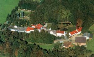 A bird's-eye view of Moorland Hotel am Senkelteich