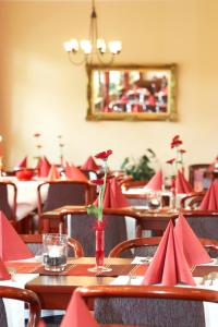 A restaurant or other place to eat at Moorland Hotel am Senkelteich