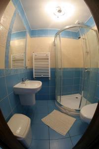 Łazienka w obiekcie Halibut