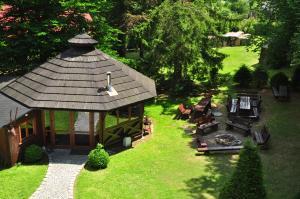 Ogród w obiekcie Rezydencja Lawendowe Wzgórze