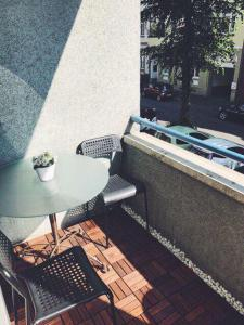 A balcony or terrace at Griffn Properties Flora