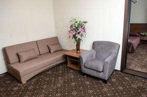 Гостиная зона в Отель Гранат