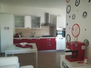 Cucina o angolo cottura di Casa vacanze Loredana