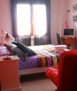 Cama o camas de una habitación en Allucant