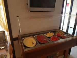 A television and/or entertainment center at Hotel Argentum