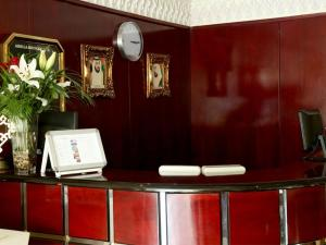 The lobby or reception area at Arbella Boutique Hotel