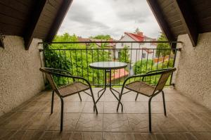 Balkon lub taras w obiekcie All World in Gdynia