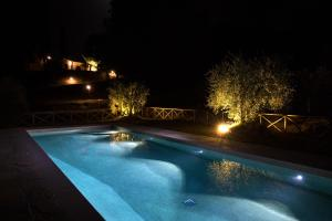 The swimming pool at or near Agriturismo La Quiete