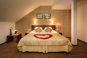 Voodi või voodid majutusasutuse Kreutzwald Hotel Tallinn toas