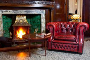 A seating area at Merewood Country House Hotel