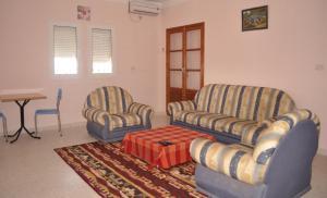 A seating area at Dyar El Guellali