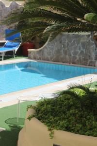 The swimming pool at or near Hotel La Filadelfia