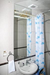 A bathroom at Bogdan Khmelnytskyi
