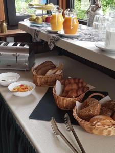 Frühstücksoptionen für Gäste der Unterkunft Claudias Wohlfühlpension