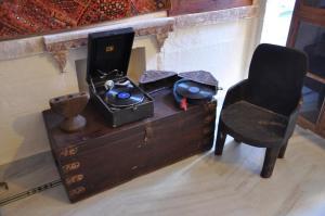 Coin salon dans l'établissement Juna Mahal Boutique Home Stay