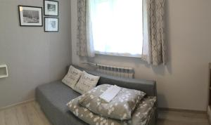 Łóżko lub łóżka w pokoju w obiekcie Apartament Melisa