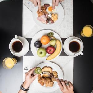 Breakfast options available to guests at Anatolia Hotel