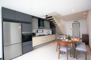 A kitchen or kitchenette at Sunrise Gurney