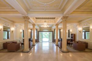 The lobby or reception area at Lindner Grand Hotel Beau Rivage