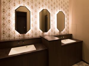 A bathroom at S.Training Center Hotel Osaka