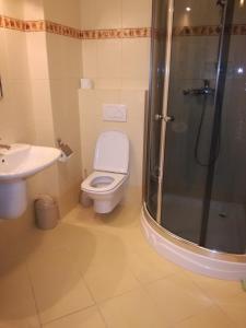 Łazienka w obiekcie Apartament Masajka