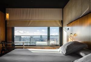 Ein Bett oder Betten in einem Zimmer der Unterkunft Barcelona Princess