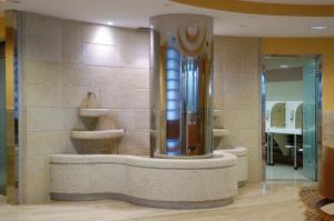 Un baño de Balneario de Carballo