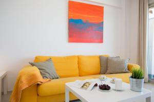 Zona de estar de Apartments Cullera Beach