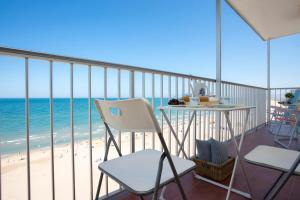 Un balcón o terraza de Apartments Cullera Beach