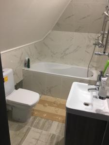 Ванная комната в Guesthouse Alina