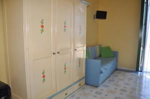 A seating area at Hotel Savoia