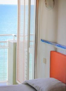 Letto o letti in una camera di Hotel Metropol