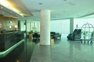 The lobby or reception area at Grand Pacific Hotel Kuala Lumpur