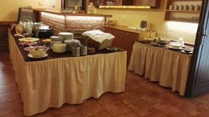 Küche/Küchenzeile in der Unterkunft Penzion Mlýn Sedlec