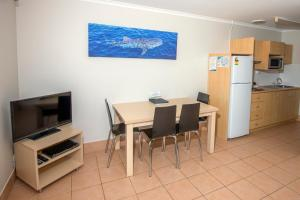 A television and/or entertainment centre at Ningaloo Reef Resort