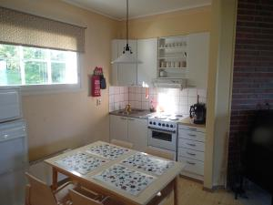 Küche/Küchenzeile in der Unterkunft Cecilia