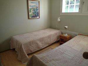 Ein Bett oder Betten in einem Zimmer der Unterkunft Cecilia