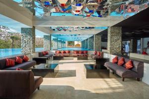 The lounge or bar area at The Sintesa Jimbaran Bali
