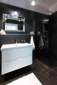 Łazienka w obiekcie Black&White Apartment
