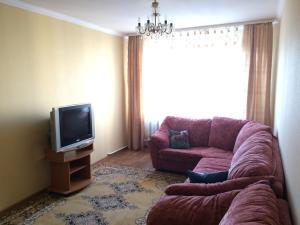 A seating area at Zvezdnaya