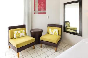 Гостиная зона в Mercure Nadi