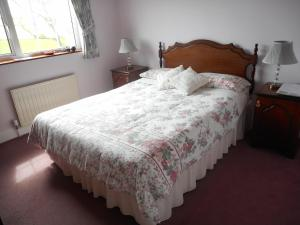 A bed or beds in a room at Springfield House B&B