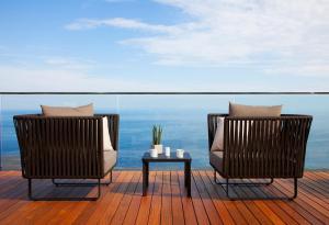Un balcón o terraza de Akelarre - Relais & Châteaux