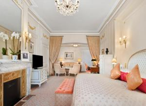 A television and/or entertainment centre at The Ritz London