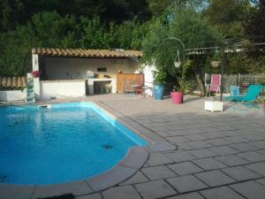 The swimming pool at or near Appartement A Lambesc