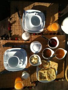 Ontbijt beschikbaar voor gasten van Riad Meski