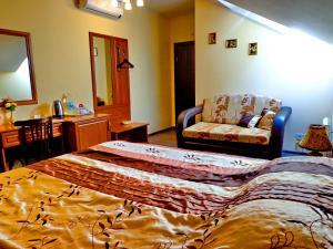 Гостиная зона в Hotel Guberniya