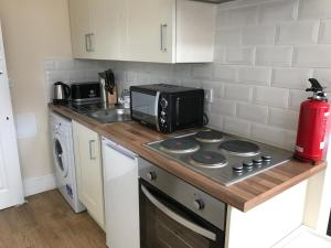 A kitchen or kitchenette at The Stockport