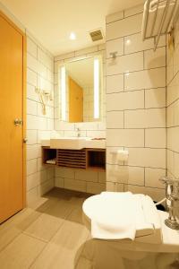 A bathroom at Ibis Jakarta Arcadia