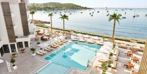 A view of the pool at Nobu Hotel Ibiza Bay or nearby